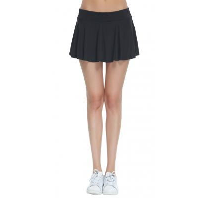 Honofash Women's Pleated Stretchy Tennis Skorts School With Underwear Covered